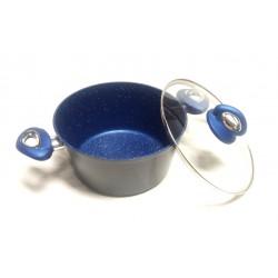 Casseruola con coperchio BLUE STONE Prestige Ø cm.24