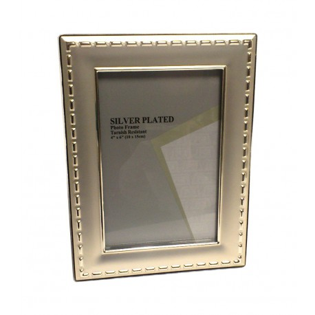 Portafoto silver plate cm. 13x18  Mod.R