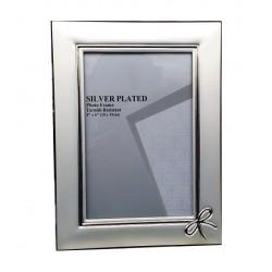Portafoto Silver Plate Mod. Fiocco cm.10x15
