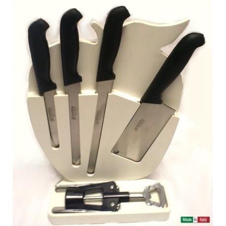 "Set coltelli cucina ""mela"" Svanera"