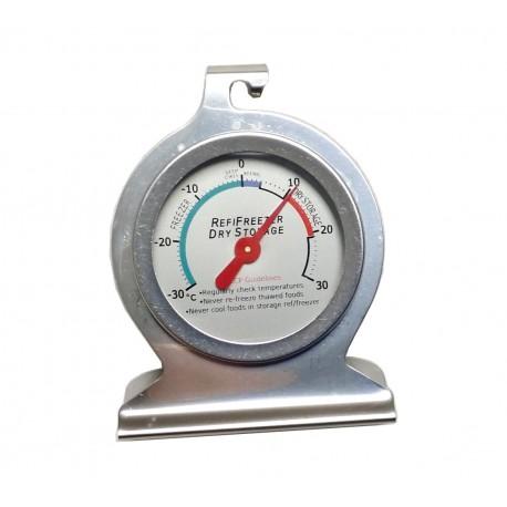 Termometro da frigo freezer inox EVA