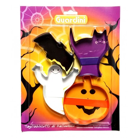 "Set 4 stampi tagliabiscotti  ""Halloween"""