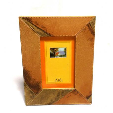 Portafoto ecopelle cm.10x15