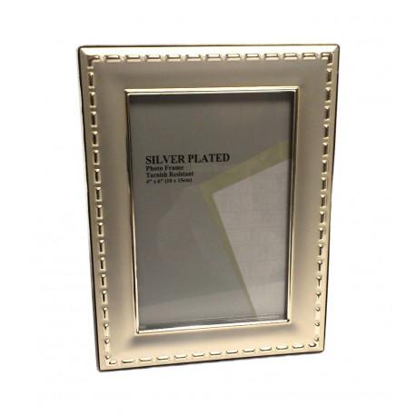Portafoto silver plate cm. 15v20  Mod.R