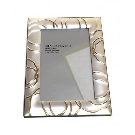 Portafoto silver plate cm. 20x25 Mod.R