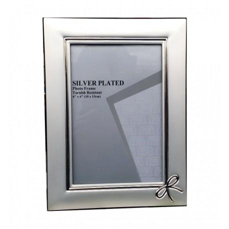 Portafoto Silver Plate  Mod. Fiocco