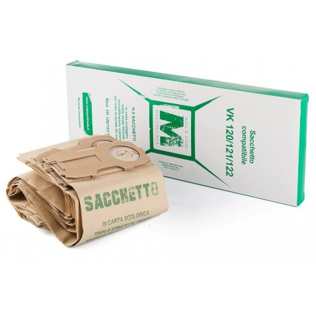 Sacchetto Folletto compatibile VK120/1/2 conf. 6pz