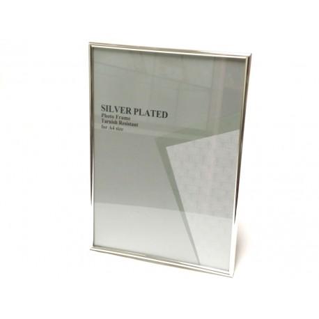 Portafoto Silver Plate Mod. Stretto A 4