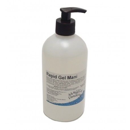 "Igenizzante Mani ""Rapid Gel"" 500 ml."