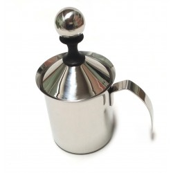 Schiuma latte  cappuccino inox Pesante 1/2 Lt.